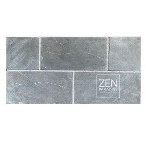 Zen Paradise 3x6 Subway Dark Grey Marble - new
