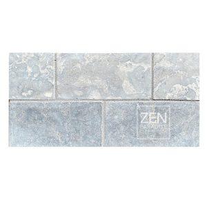 Zen Paradise 3x6 Subway Light Grey Marble - new