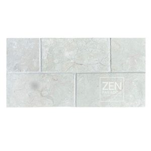 Zen Paradise 3x6 Subway White Marble - new