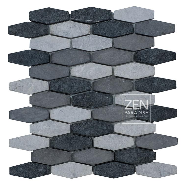 Zen Paradise Honeycomb - Mountain Mix tile