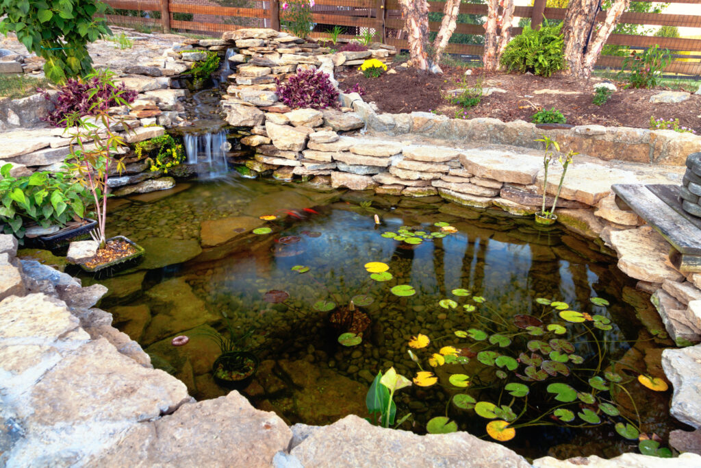 Using ponds, streams, and fountains for landscaping