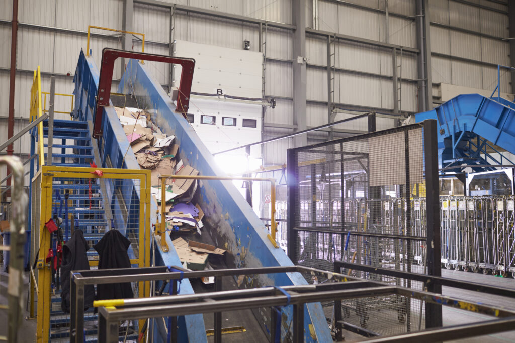 New recycling facility built to assist in the ever growing need for recycling services