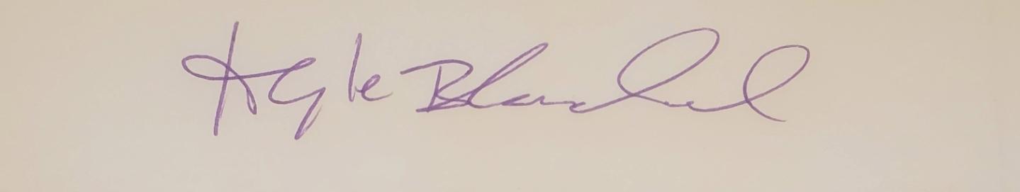 Kyle C Blanchard (signature)