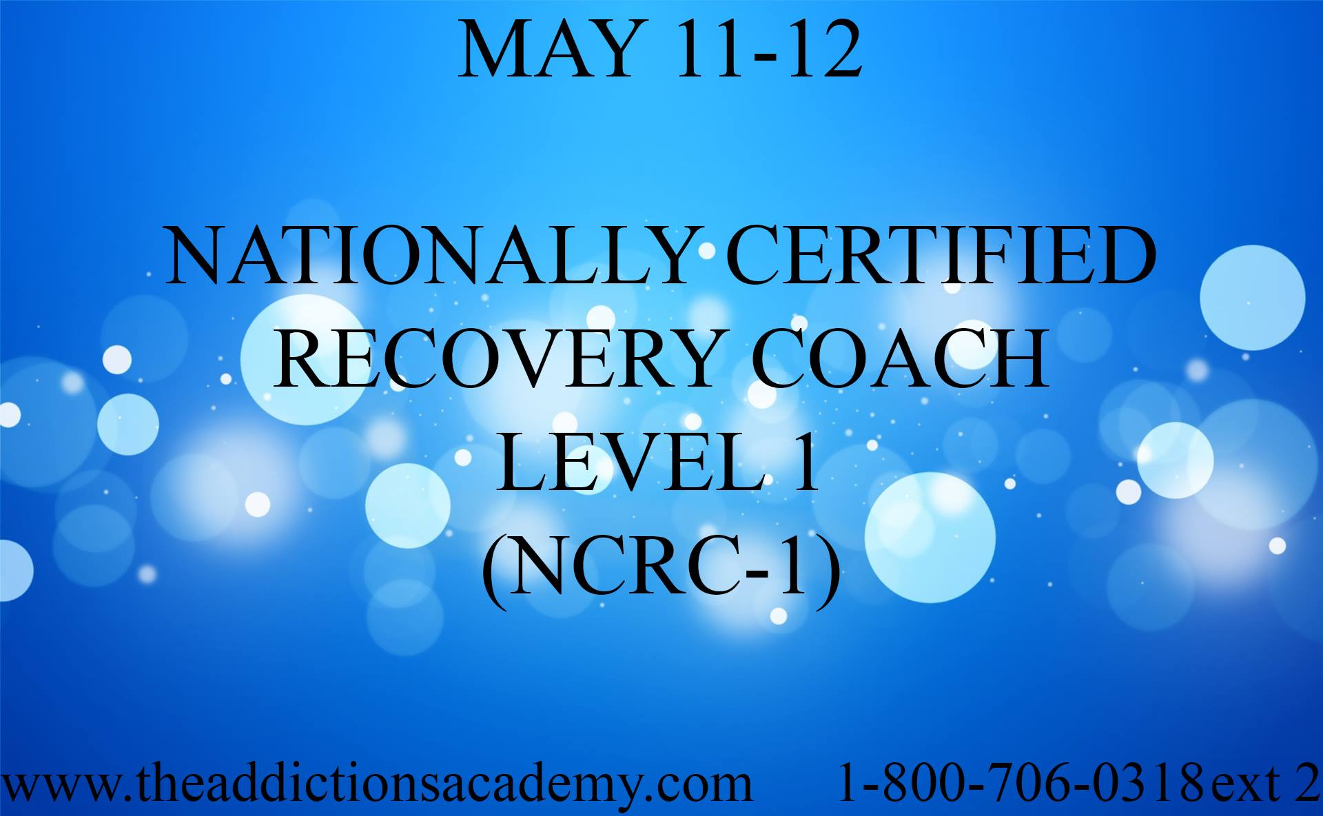 It S Not Too Late Register Today Nationally Certified