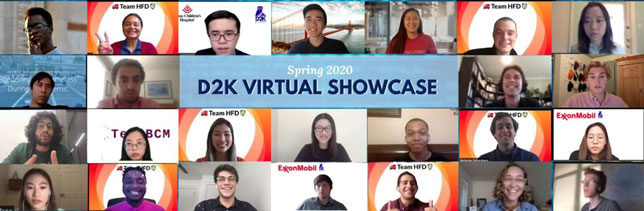 Virtual Showcase for Student's Projects