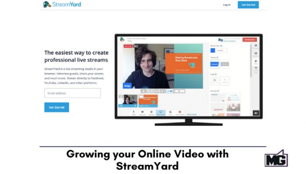 Streamyard in Growing your Online Video
