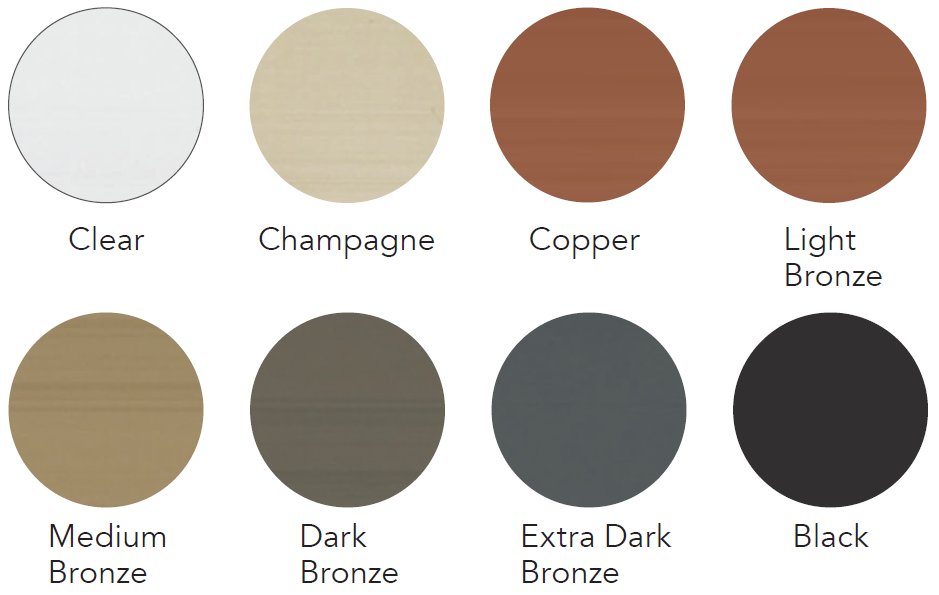Anodized Exterior Finishes