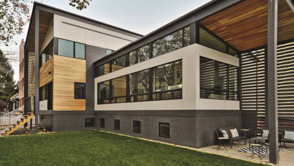 Contemporary Weather Shield Home