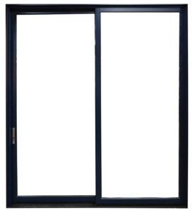 Black Multi-Sliding Door