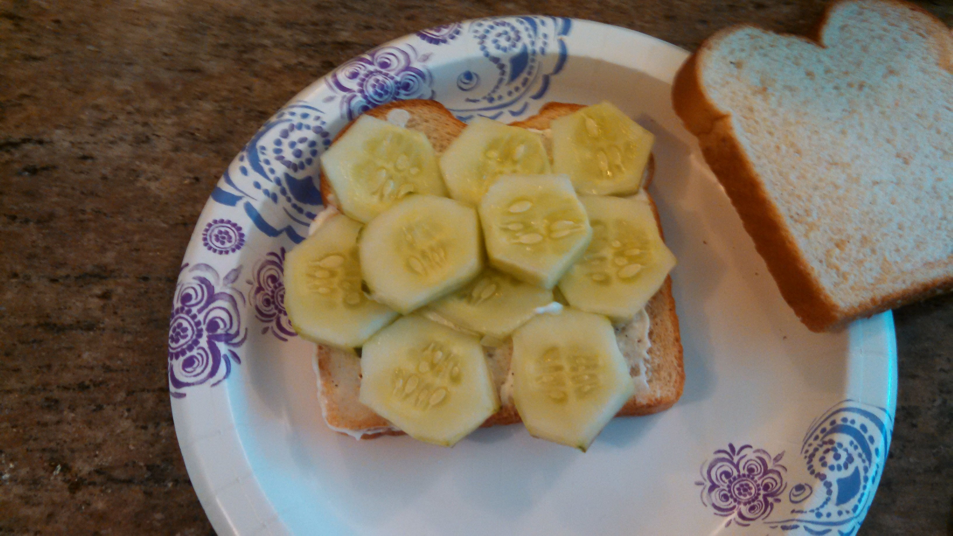 I'm Officially Middle-Aged: I ate a Cucumber Sandwich