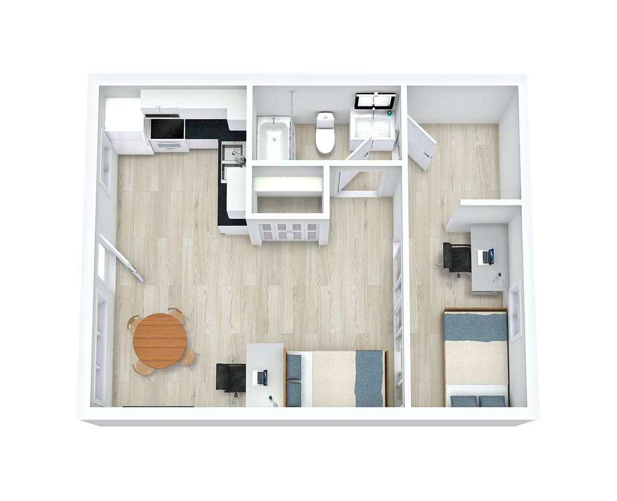 Floor Plans – Capri Eugene Apartments