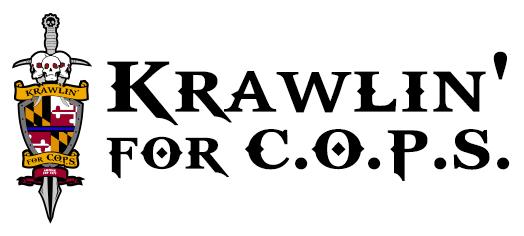 Krawlin for C.O.P.S. Logo