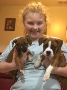 Brilee (L) Brody (R)