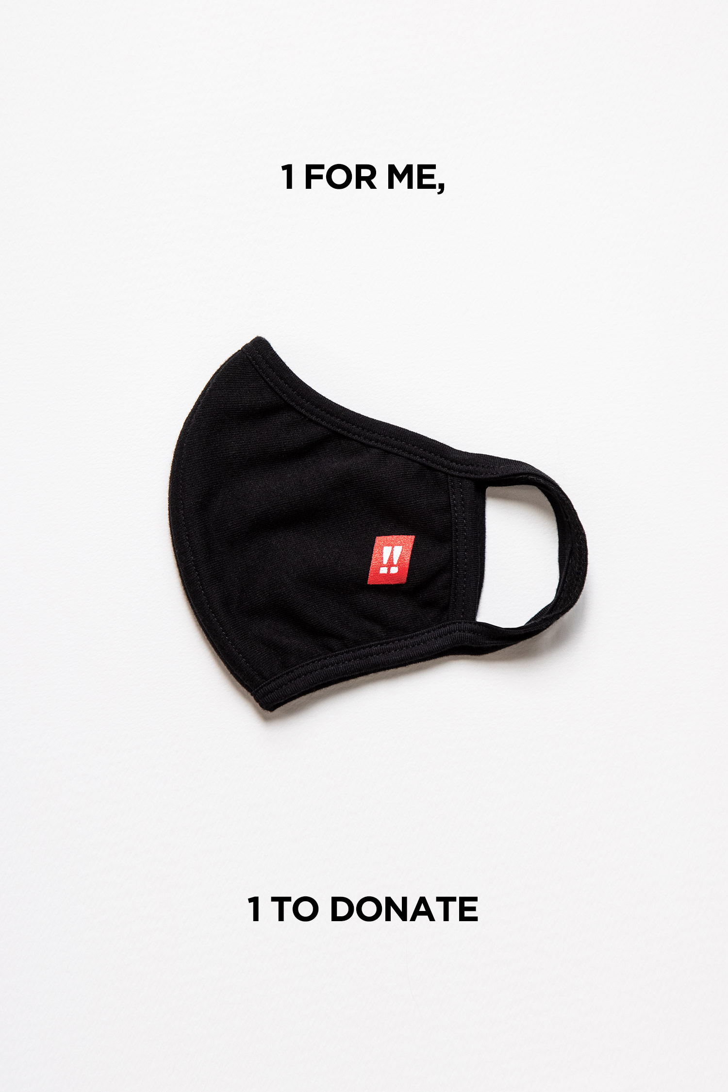 Unisex Face Mask: 1 for me, 1 to donate