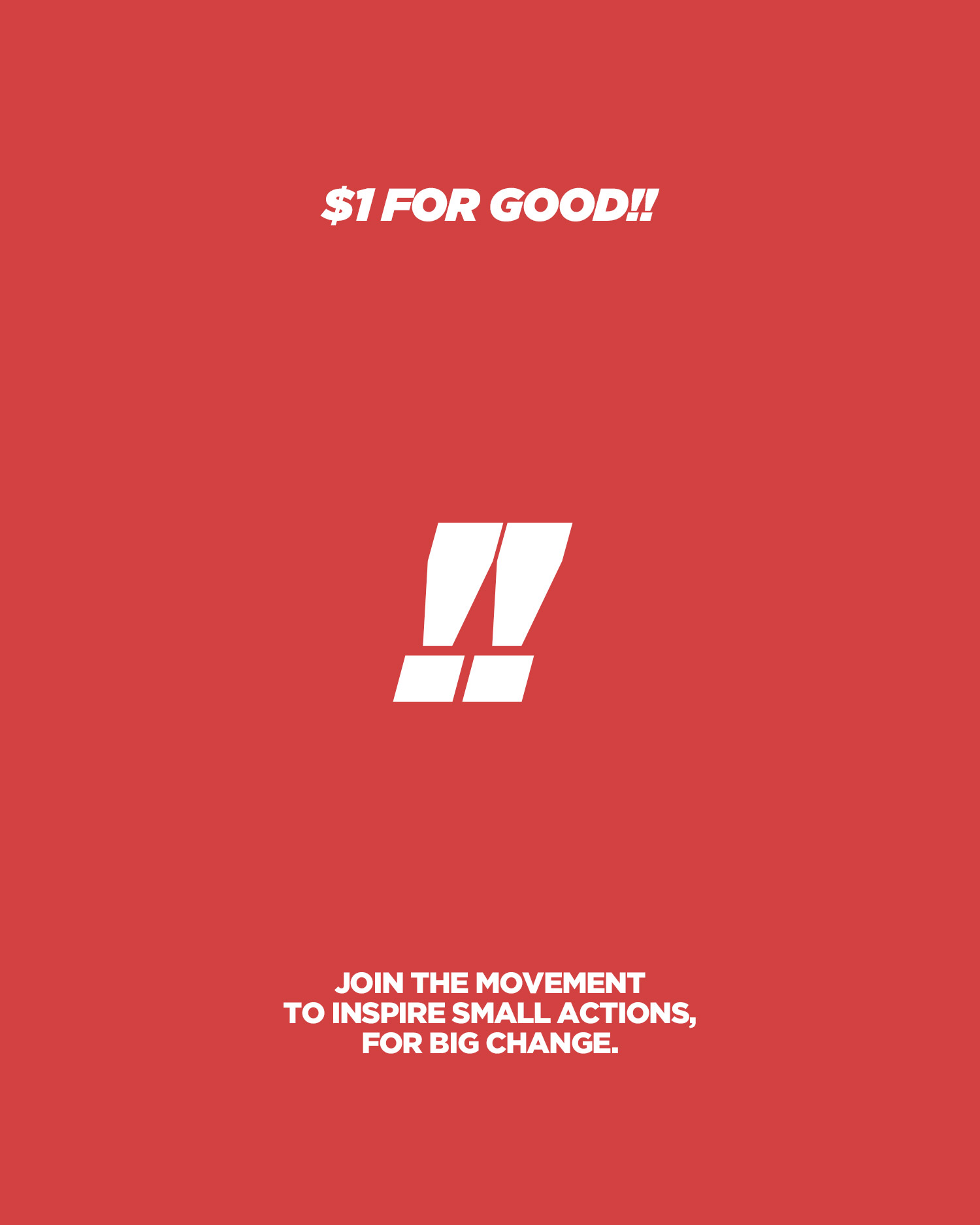A Dollar for Good