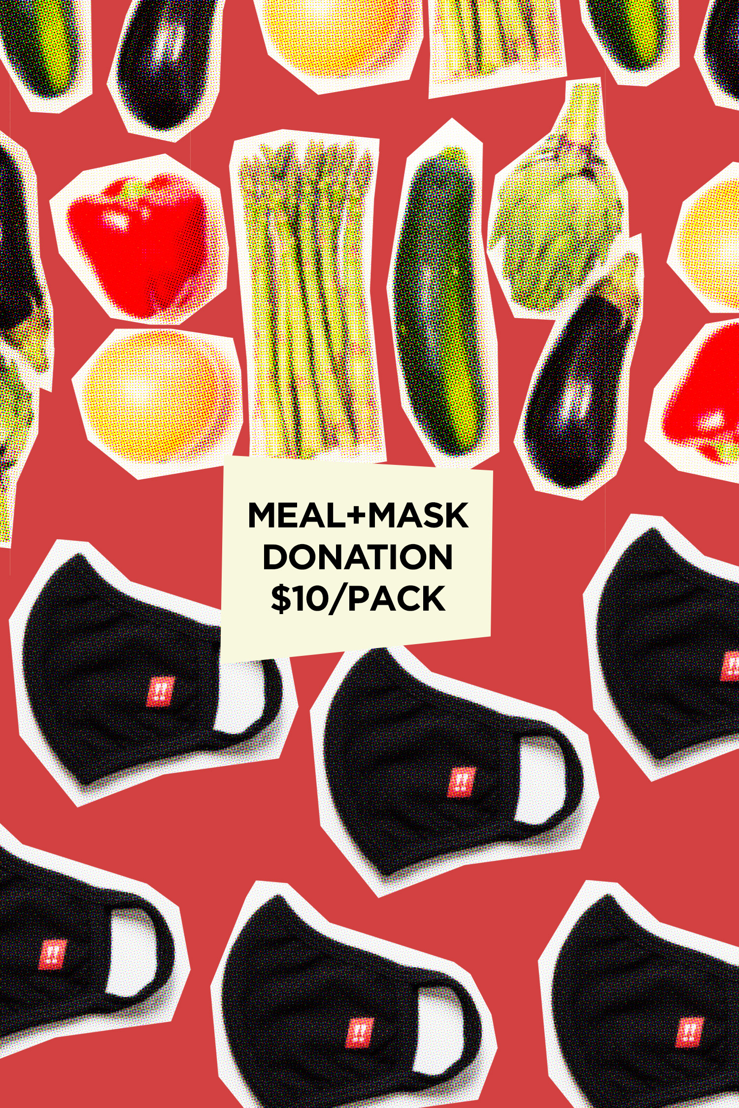 Donate Meals with a Mask!!