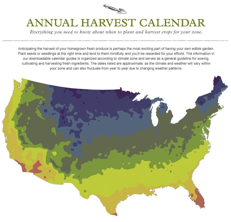 08 Harvest Calendar