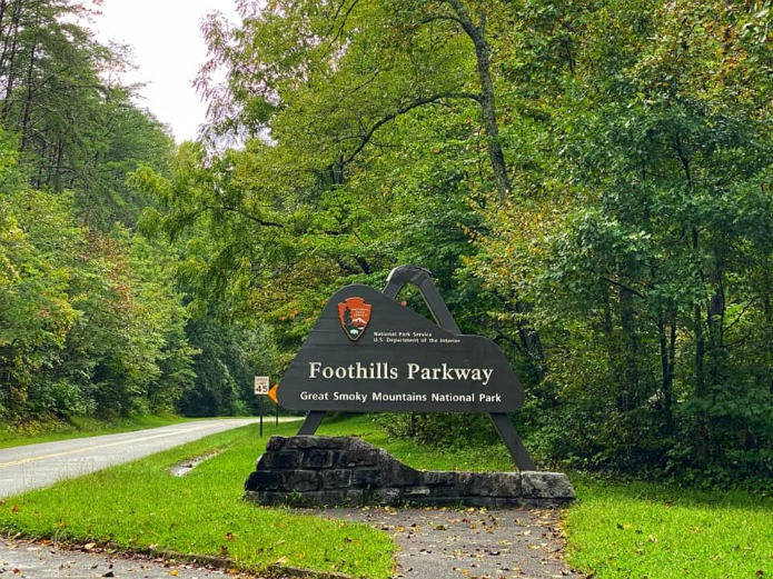 Tennessee's Foothills Parkway on Travel with Terri