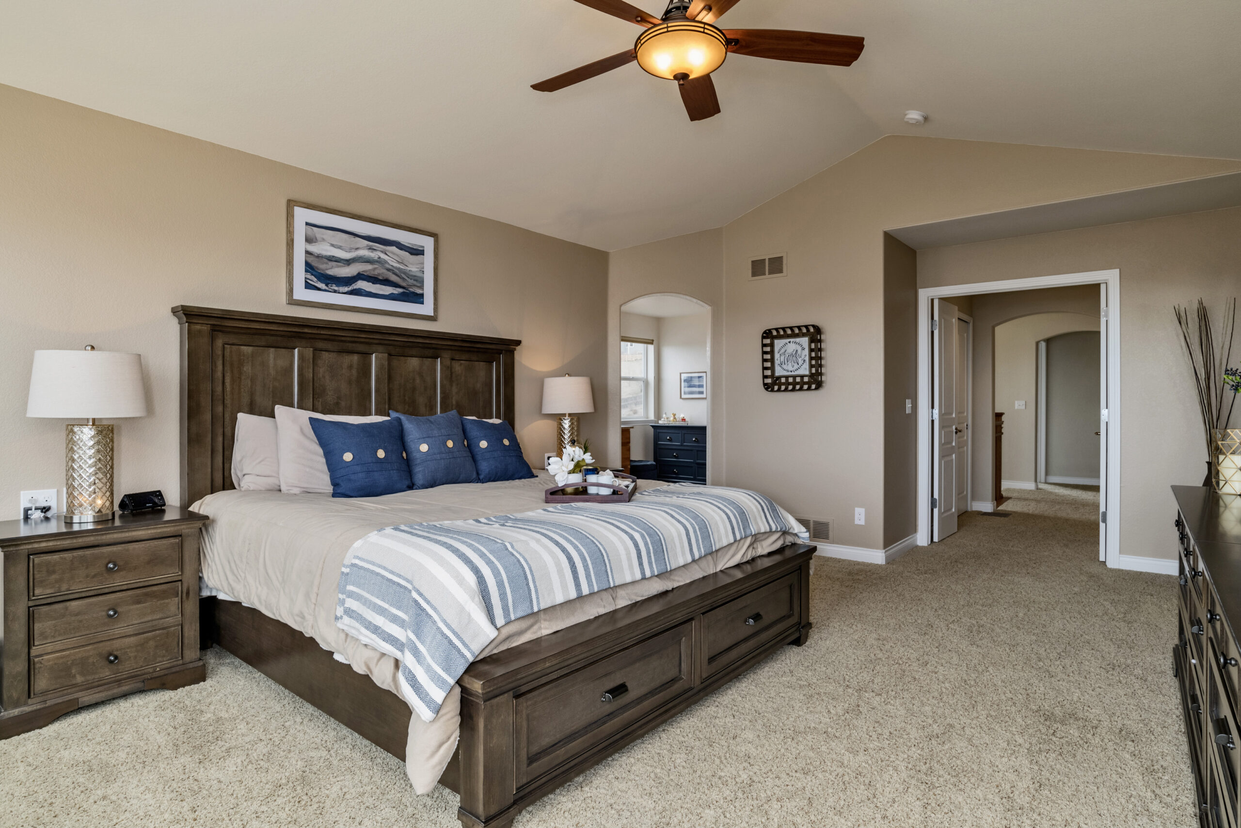 Bedroom Home staging