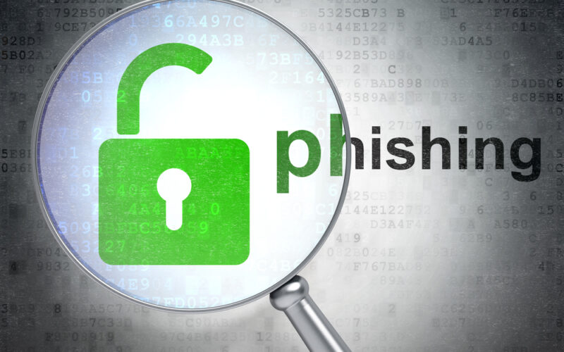 Phishing-magnified
