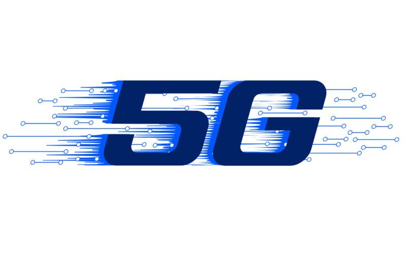 5G new firth generation internet wiress technology background