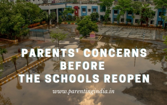 PARENTS' CONCERNS BEFORE SCHOOLS REOPEN