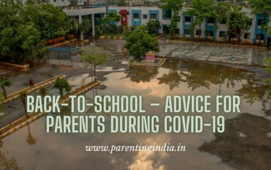 BACK-TO-SCHOOL – ADVICE FOR PARENTS DURING COVID-19