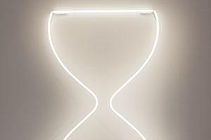 leila-heller-gallery-abstraction-now-neon-hourglass-buckman