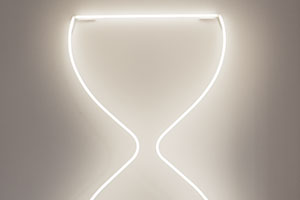 leila-heller-gallery-abstraction-now-neon-hourglass-buckman