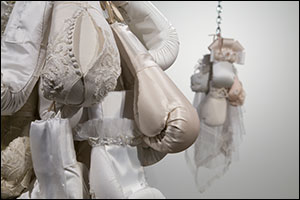 Projects+ Gallery in St. Louis features boxing work from Zoe Buckman at group exhibition