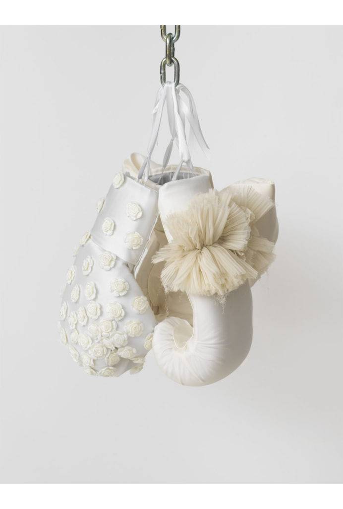Zoe Buckman Twist Wolfsbane Feminist Art Boxing Gloves