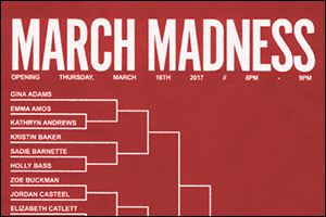 2nd Annual March Madness Exhibtion at Fort Ganesvoort is all Women Artists