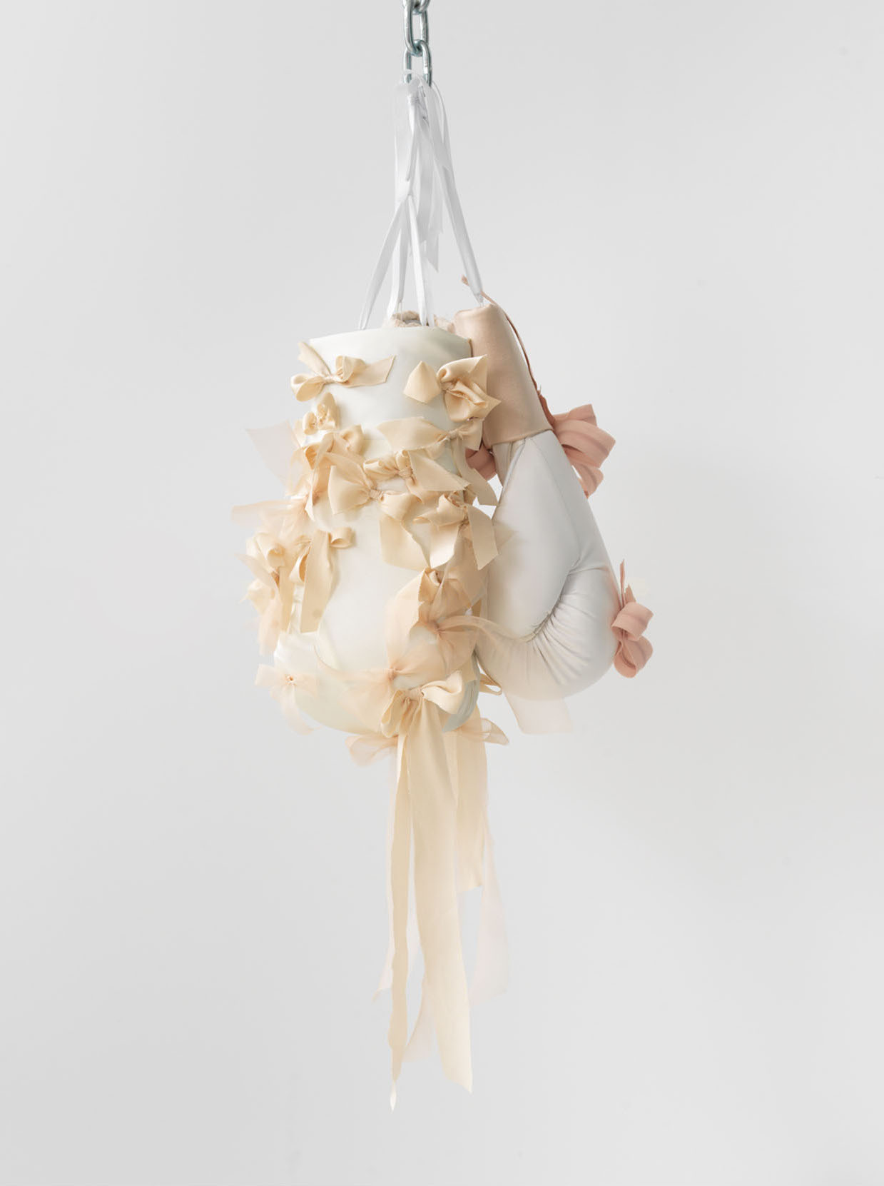 Zoe Buckman Morning Rose Wedding Dress Boxing Gloves