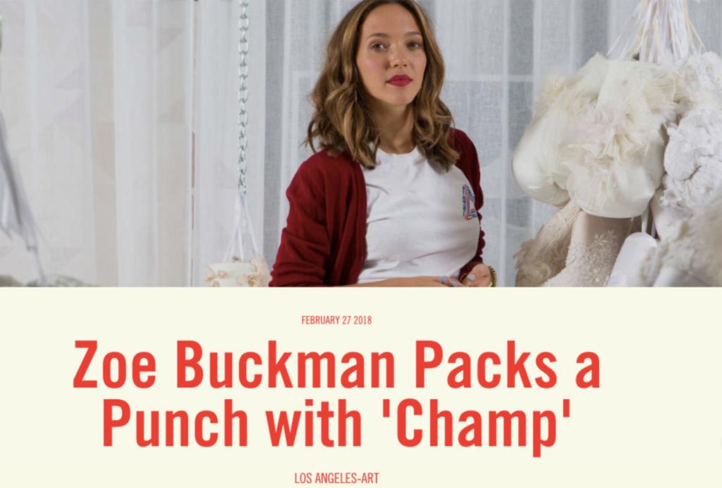 The Standard Zoe Buckman Champ