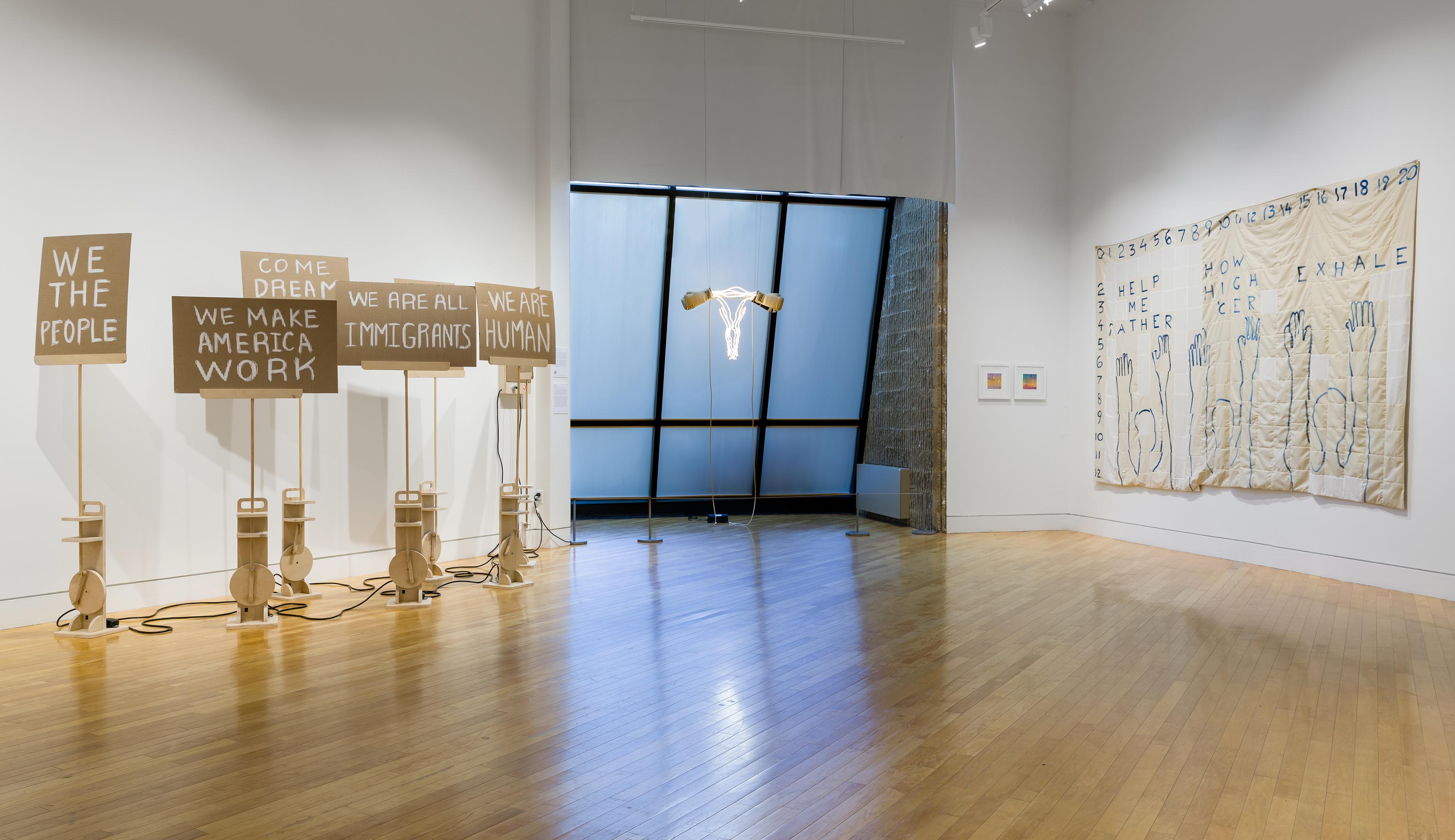 Art exhibition at NJ Visual Arts Center Zoe Buckman