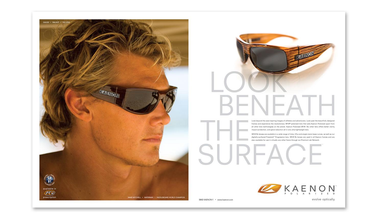 surfer magazine advertising design