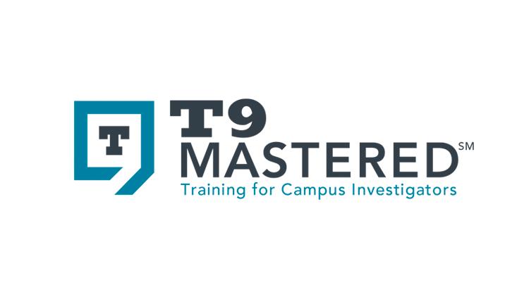 T9 Mastered Training Logo design