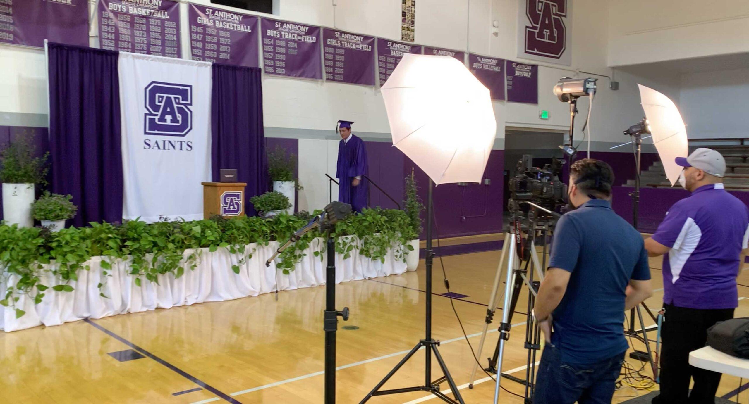 not a virtual graduation