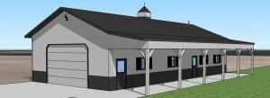 Pole Building Work Shop