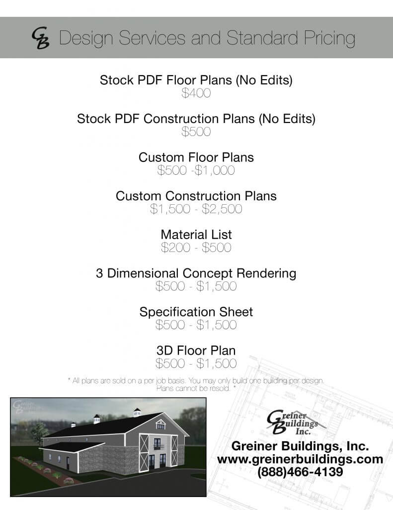 Shome Floor plans, House Barn Floor plans, Shop Floor Plans