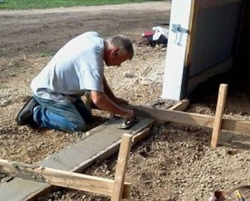 Vice-President and company founder Tom Greiner enjoys his time out with the crew members building. Getting away from the hustle and bustle of the office Tom is frequently seen on the job sites coaching and guiding members to the next level.