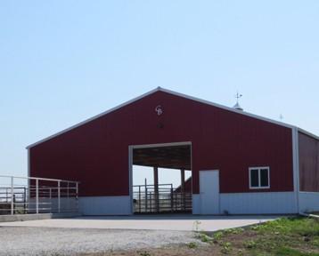 Iowa Cattle Barn Builder - Illinois Cattle Barn Builder
