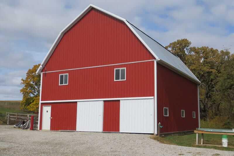 Post Frame Buildings Cedar Rapids, Iowa, Greiner Buildings Inc.