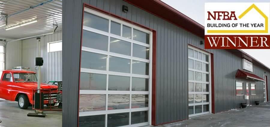 Pole building commercial greiner buildings