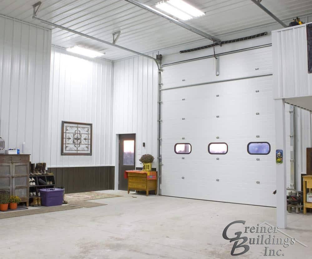 Machine Shed Shop Garage built by Greiner Buildings