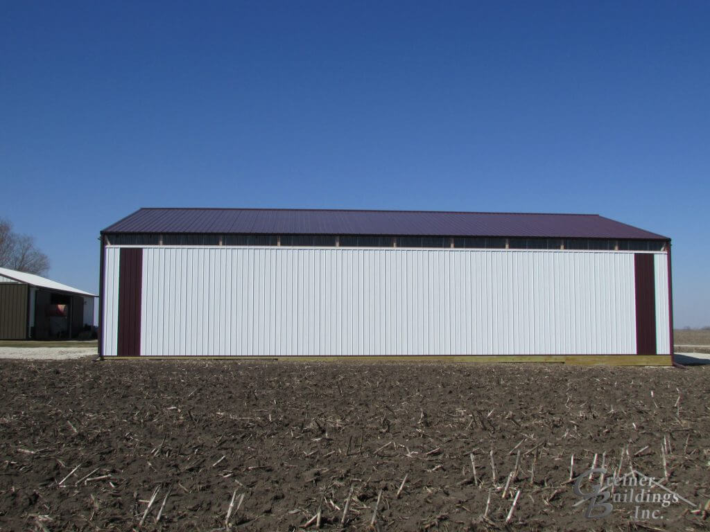 Iowa Pole Barn Machine Shed Illinois Pole Barn Machine Shed