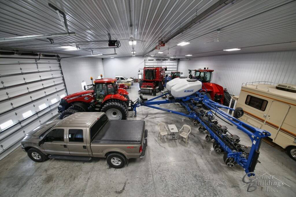 Farm Shop with Case IH equipment