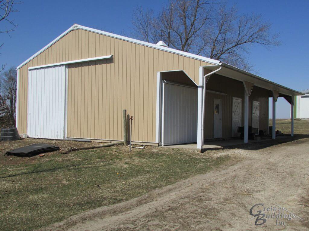 Illinois Equestrian Barn