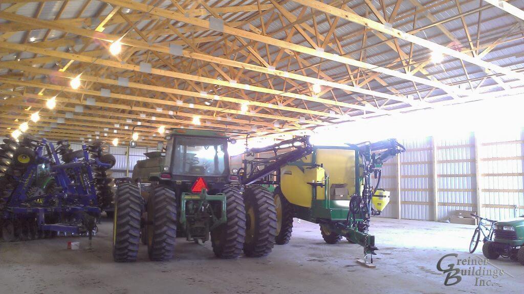 Iowa Pole Barn Machine Shed Illinois Pole Barn Machine Shed