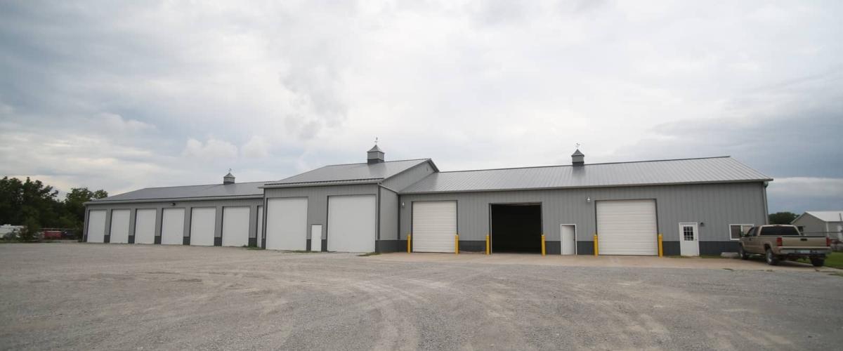 commercial auto garage pole building